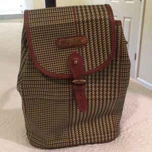 Ralph Lauren one strap backpack purse.